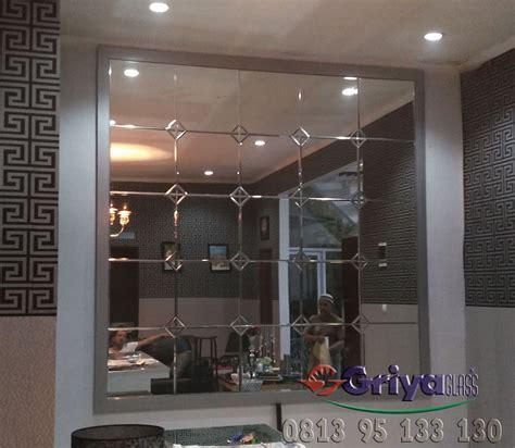 Cermin Bevel jual cermin bevel dekorasi griya glass