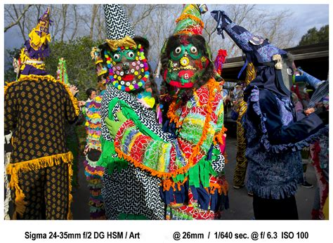 Photographing Mardi Gras Traditions With Sigma 24 35mm