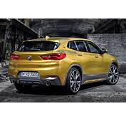 All New BMW X2 Crossover Revealed