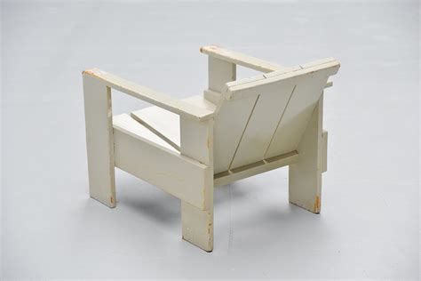 Gerrit Rietveld Crate Chair by Gerrit Rietveld Crate Chair Metz Co 1940 Mid Mod Design