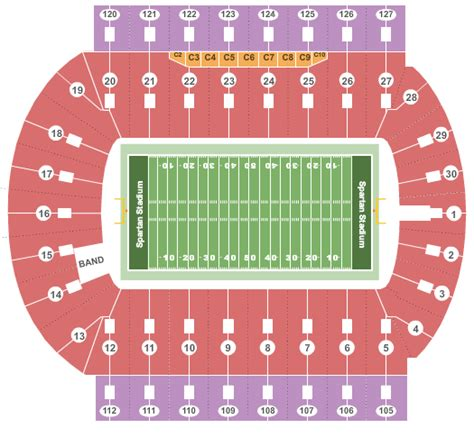 Spartan Ticket Office by Michigan State Tickets Michigan State Spartans Tickets