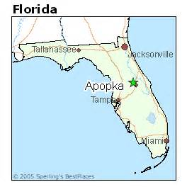 Apopka Florida Map by Best Places To Live In Apopka Florida