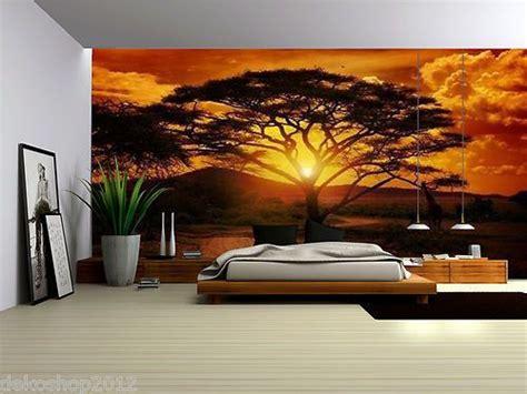 details  african sunset fleece photo wallpaper
