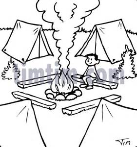 Free Drawing Of Campfire BW From The Category Fishing Hunting Camping  sketch template