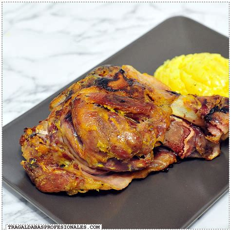 slow cooker recetas 8416641471 receta de codillo al horno a la mostaza cocina sin prisas