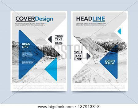 design concept report blue brochure design creative brochure cover brochure