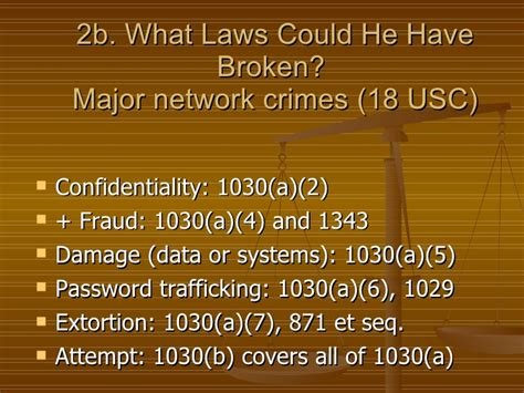 18 Usc Section 1343 by Cyber Security The Laws That Protect Your Systems And