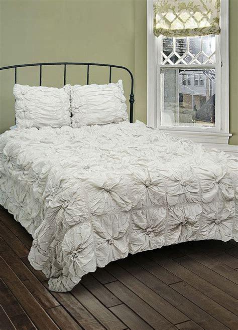 gray ruffle comforter set comforters pinterest