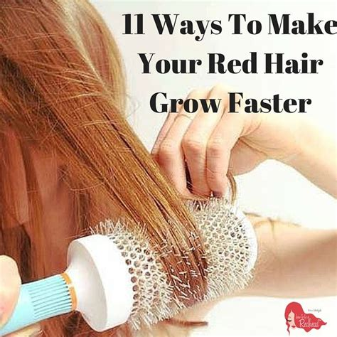 17 simple tricks to make your hair grow faster 164 best redhead hairstyles tips images on pinterest