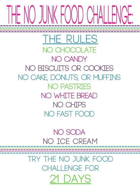 Sugar And Junk Food Detox by Best 25 No Sugar Challenge Ideas On 21 Day