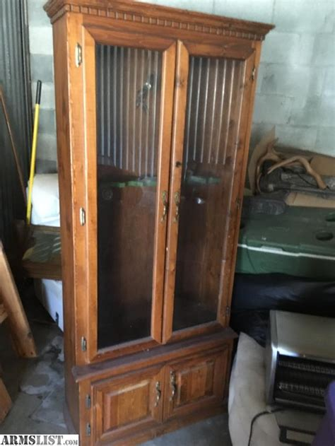 hold cabinets for sale armslist for sale locking gun cabinet wood holds 8 guns