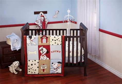 Disney Crib Bedding Set 101 Dalmatians 4 Piece Disney Crib Bedding For Boys