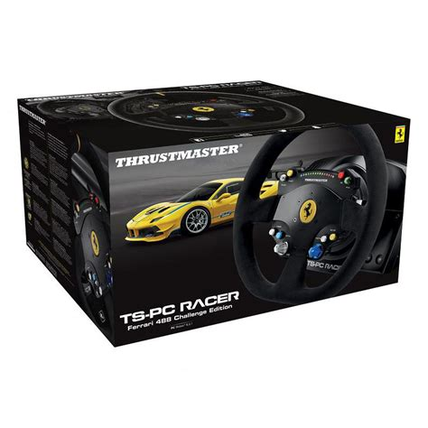 volante thrustmaster thrustmaster ts pc racer 488 challenge edition volant pc