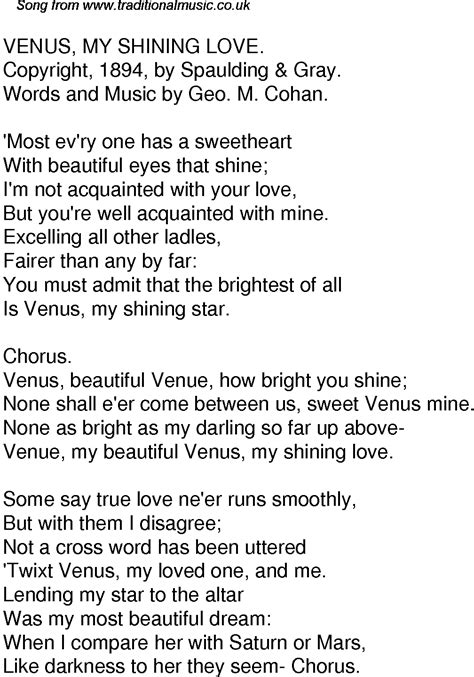 most beautiful in the room lyrics time song lyrics for 57 venus my shining