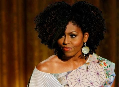 k michelle with natural curly hair michelle obama goes curly curlynikki natural hair care