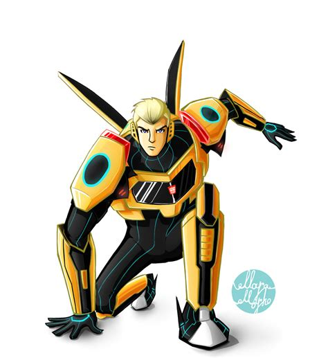 Robot Transgormer Bumblebee transformers robots in disguise bumblebee by