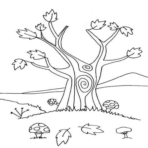 dibujos de rboles para colorear para ni os arbol en invierno para colorear imagui dibujosparacolorear