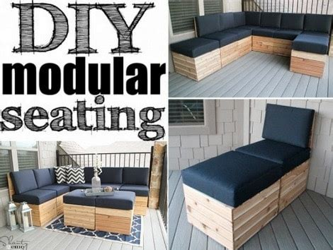 diy modular sofa   patio  plans homestead