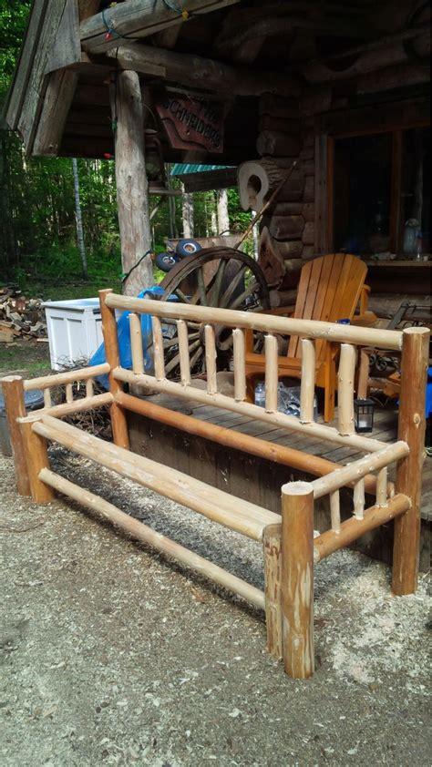 Cabin Futon by Log Futon Small Cabin Forum