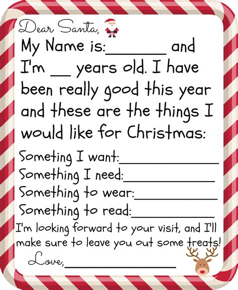 letter to santa template want need free printable santa letter for kids