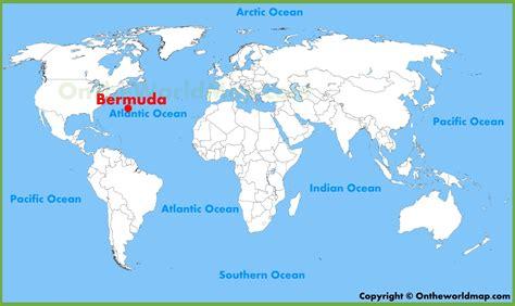 bermuda world map bermuda location on the world map