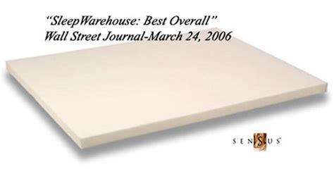 sensus 5lb 2 xl memory foam mattress pad photo 1