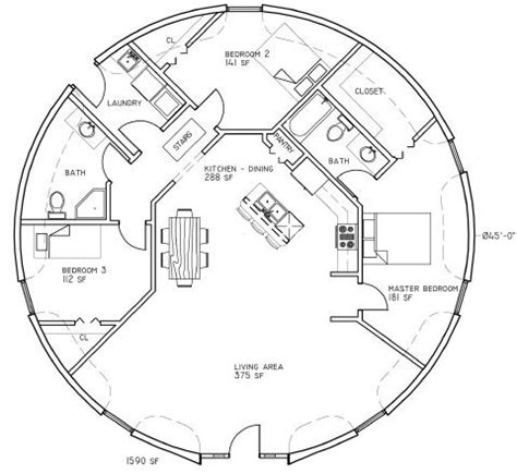 dome house plans circle plan house tiny