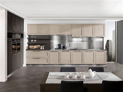cucina moderna lineare cucina lineare moderna in frassino miele