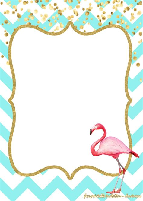 Free Flamingo Invitations Templates Downloadable Free Invitation Templates Drevio Flamingo Invitation Template Free