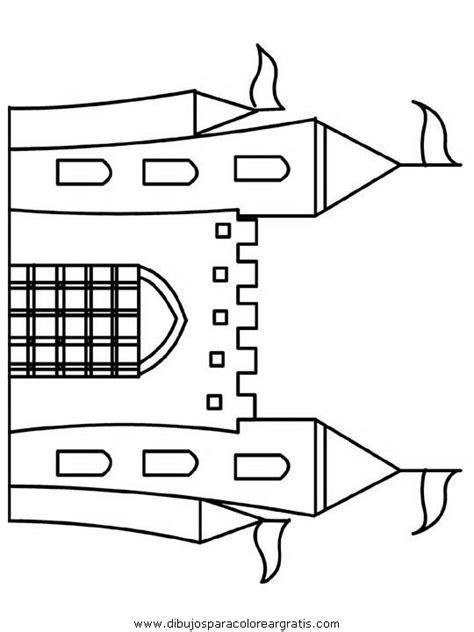 dibujos para colorear edad media para la escuelita