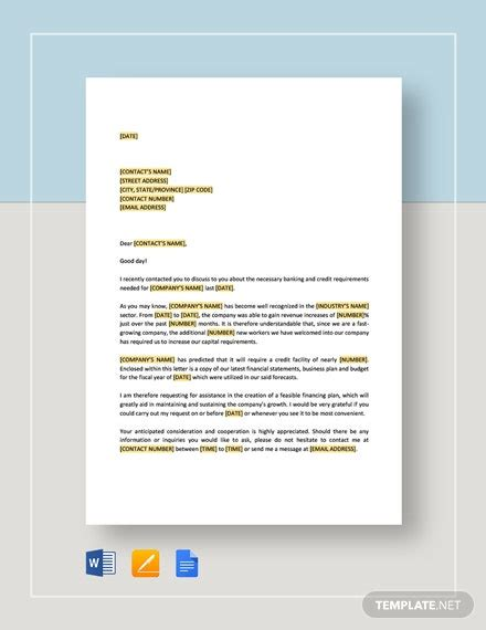 request letter approval proposal template