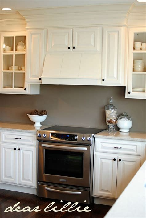 Black Kitchen Cabinets What Color On Wall Cabinet Color Wall Color Black Knobs New Kitchen Pinterest