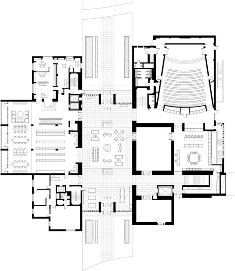 research center floor plan the clark institute selldorf architects new york