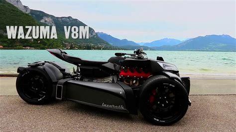 lazareth wazuma wazuma v8m lazareth v8 engine powered trike youtube