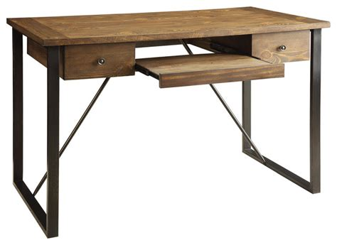 rustic industrial desk industrial computer desk rustic desks and hutches by