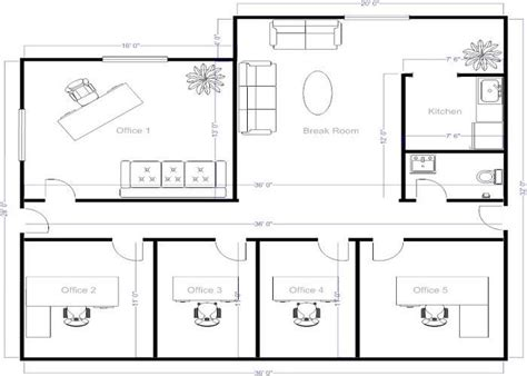 create a blueprint free 4 small offices floor plans small office layout floor plans offices floor