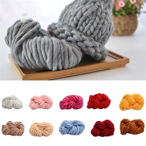 knitting thick yarn 2016 thick yarn for knitting threads knit scarf soft