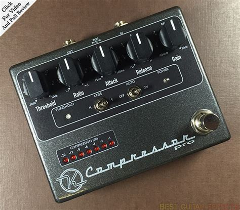 types of capacitors for pedals top 15 best guitar compressor pedals of 2016