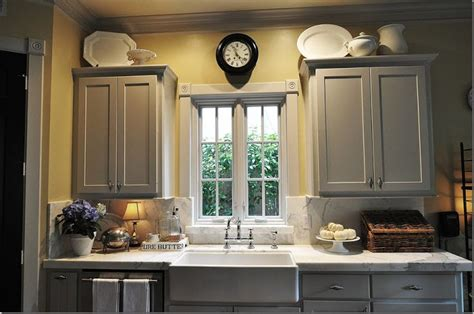 gray and yellow kitchen grey cabinets yellow walls home decor pinterest