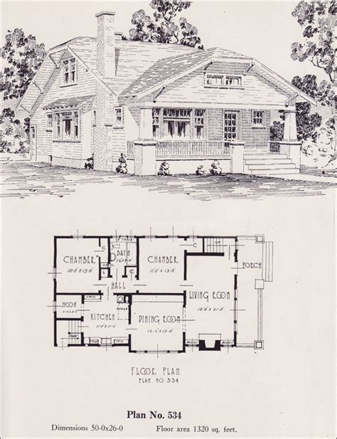 universal house plans modernized bungalow 1926 universal plan service no 534 house plans portland
