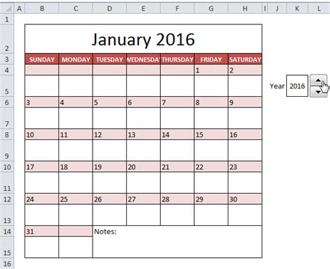 Calendrier Ms Excel Templates Calendar Eskindria