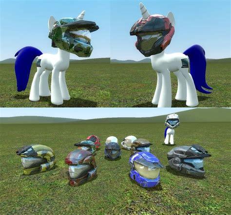 halo pony tail halo pony models helmets release v 1 by digitalsyntax