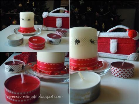 decorare le candele natale handmade come decorare le candele guidacatering it
