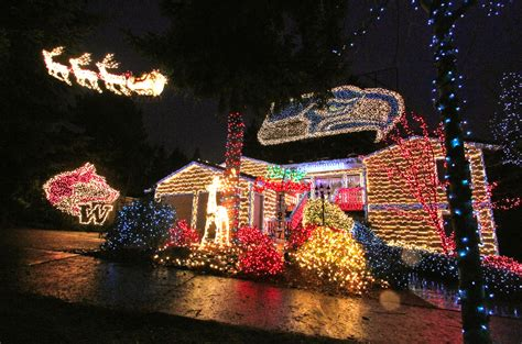 seahawks house neighbors force seahawks christmas lights house to go dark bso part 2