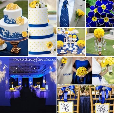 Blue and Yellow Wedding Theme   Wedding   Blue wedding