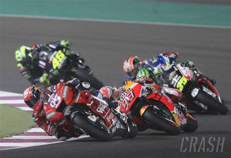 qatar motogp race results crash