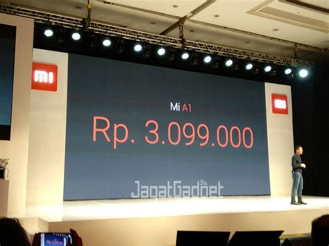 Xiaomi Mia1 Garansi Resmi ini dia harga xiaomi mi a1 jagat gadget