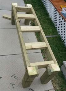 how to build a simple patio deck bench out of wood step by