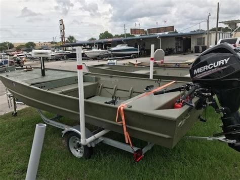used crestliner jon boats for sale used jon boats for sale page 5 of 6 boats