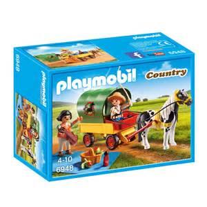 playmobil country picknick met ponywagen 6948 intertoys